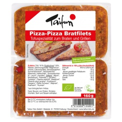 Tofu-Bratfilets Pizza-Pizza