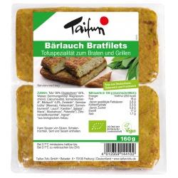 Tofu-Bratfilets mit Bärlauch