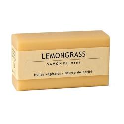 Karitébutter-Seife mit Lemongras