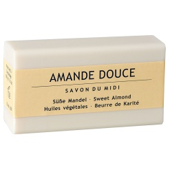 Karitébutter-Seife mit Mandel