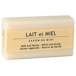 Karitébutter-Seife mit Milch & Honig