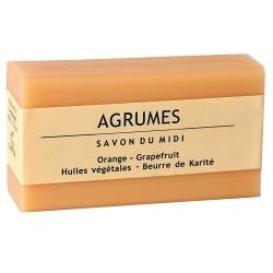 Karitébutter-Seife mit Orange & Grapefruit