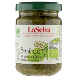 Basilikum in Olivenöl