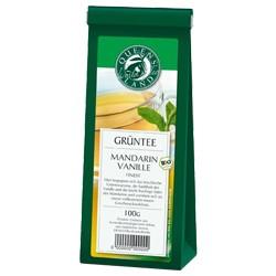 Grüntee mit Mandarine & Vanille