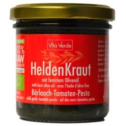 Bärlauch-Tomaten-Pesto Heldenkraut