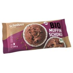 Dark-Chocolate-Muffins, glutenfrei