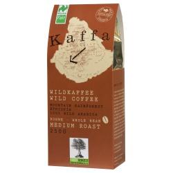 Wildkaffee Kaffa, medium,  ganze Bohne
