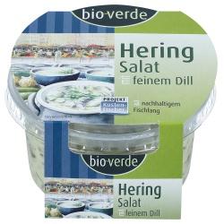 Heringssalat in Joghurt-Dill-Sauce