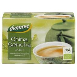 Grüntee China Sencha im Beutel