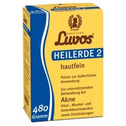 Heilerde-Pulver Nr. 2 hautfein