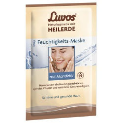 Feuchtigkeitsmaske mit Heilerde & Mandelöl