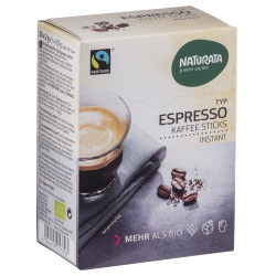Espresso-Sticks aus Instant-Bohnenkaffee