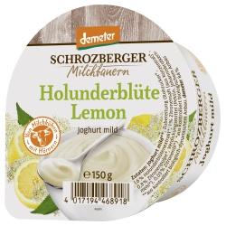 Joghurt mit Holunderblüte & Limone