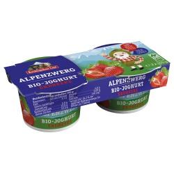 Joghurt Alpenzwerg mit Erdbeere