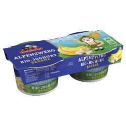 Joghurt Alpenzwerg mit Banane