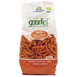 Spirelli Goodel aus roten Linsen & Leinsaat