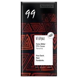 Feine Bitterschokolade mit 99% Kakao