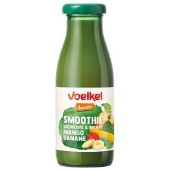 Grüner Smoothie mit Mango, Grünkohl & Spinat