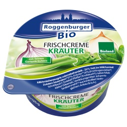 Frischcreme mit Kräutern aus Bayern