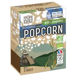 Salziges Popcorn für die Mikrowelle