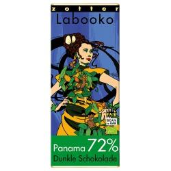 Bitterschokolade mit 72% Kakao aus Panama