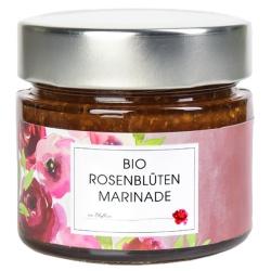 Rosenblüten-Marinade