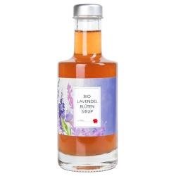 Lavendelblüten-Sirup