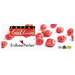 Erdbeeren in Erdbeerschokolade