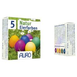 Natur-Eierfarben