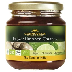 Ingwer-Limonen-Chutney