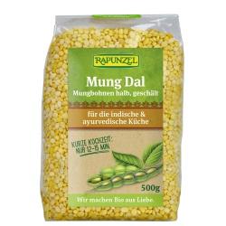 Mung-Dal (Mungbohnen, halb, geschält)