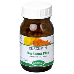 Kurkuma-Plus-Kapseln