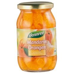 Mandarin-Orangen im Glas