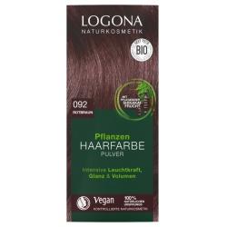 Pflanzen-Haarfarbe-Pulver rotbraun