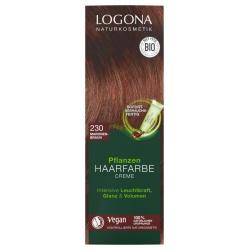 Pflanzen-Haarfarbe-Creme maronenbraun