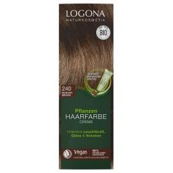 Pflanzen-Haarfarbe-Creme nougatbraun